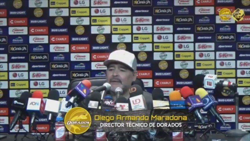 ¡Goleó Dorados en el debut de Maradona!