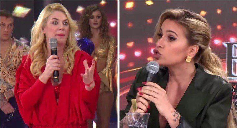 Duro cruce de Flor Peña y Esmeralda Mitre en el Bailando 2018