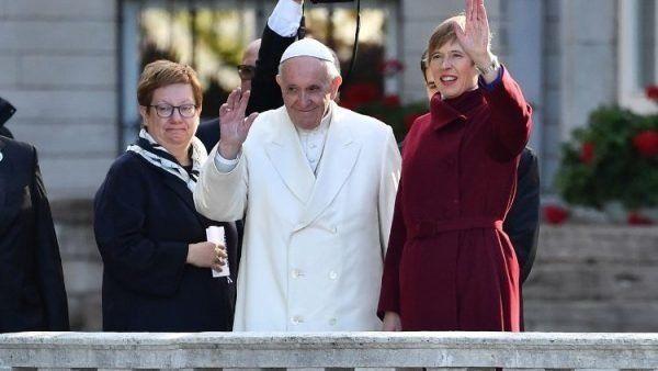 El Papa Francisco visitó Estonia, el país con más gente atea en el mundo