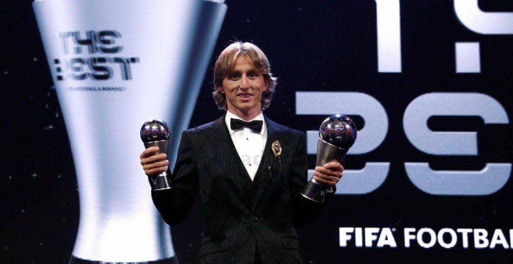 Luka Modric fue elegido el mejor futbolista del mundo