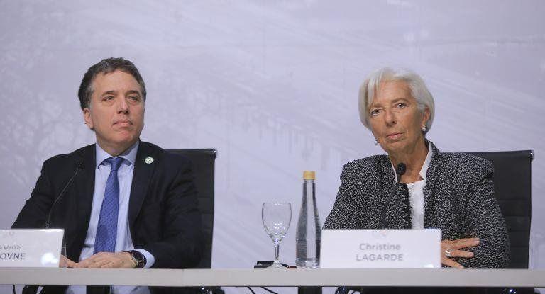 Dujovne y Lagarde anuncian hoy el nuevo acuerdo con el FMI