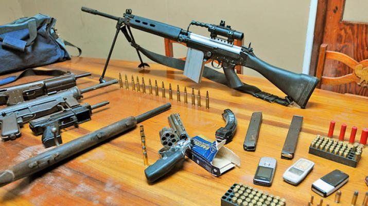 En la provincia no existe un registro de la cantidad de armas de fuego que hay