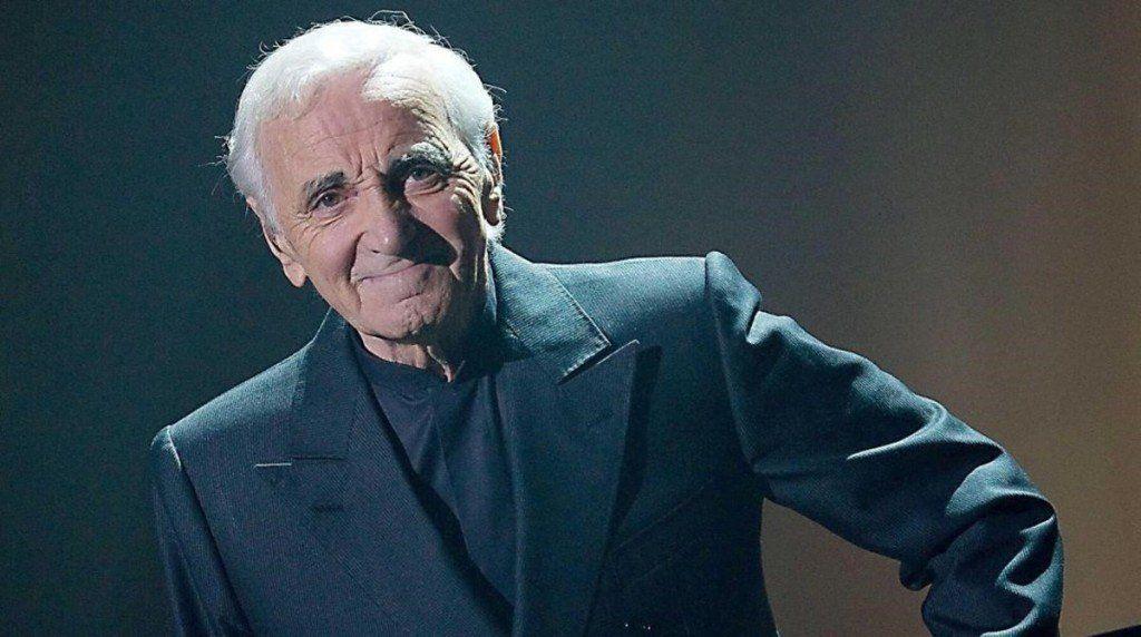 Falleció el cantante Charles Aznavour