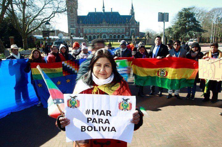 Fallo en contra de Bolivia en su demanda con Chile por la salida al mar
