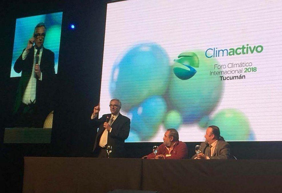 Finalizó el Foro de Cambio Climático realizado en Tucumán