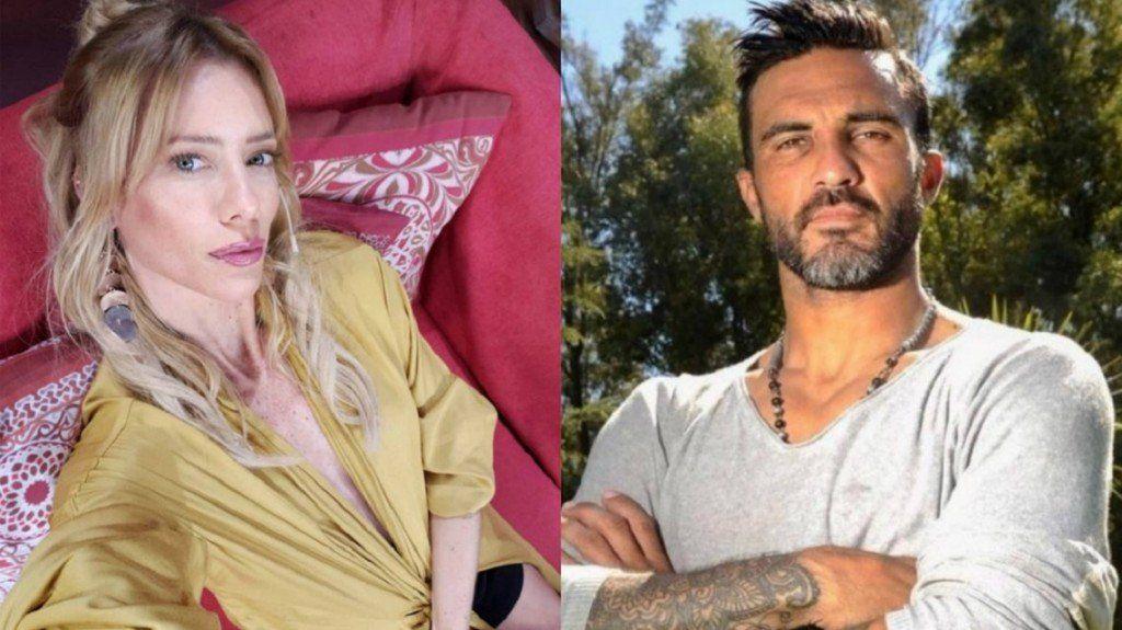 Nicole Neumann enfurecida con Fabián Cubero