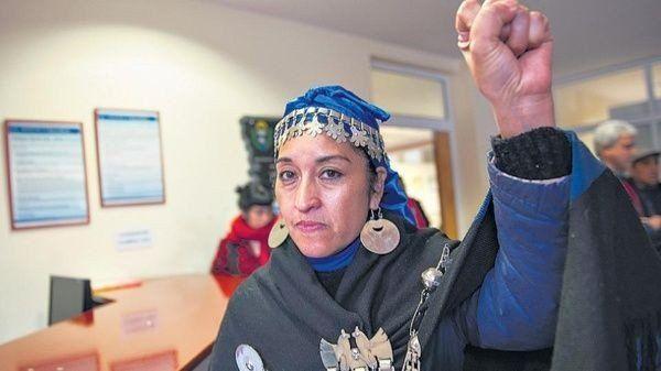 Sobreseyeron a una líder del movimiento mapuche por la ocupación de un tribunal