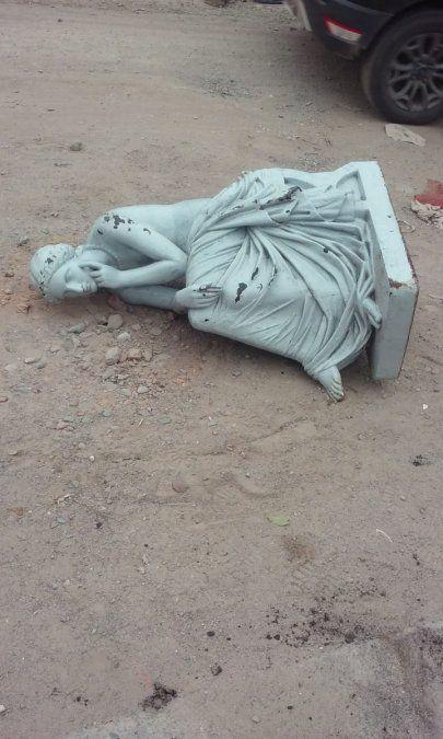 """Habrían encontrado la estatua la """"Meditación"""""""