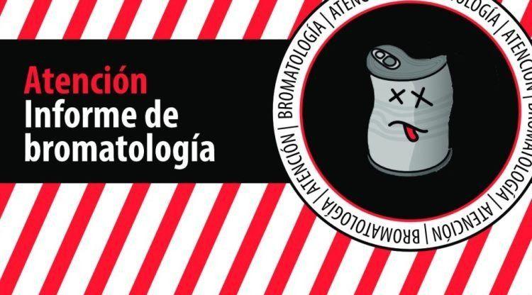 Bromatología advierte sobre productos no aptos para el consumo