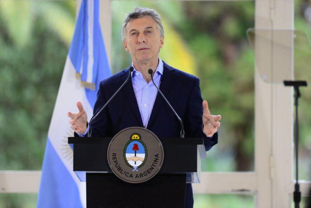 """Macri dijo que las cuotas de los créditos hipotecarios UVA """"no se van a disparar"""""""