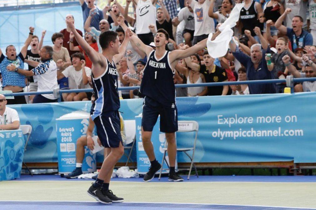 Argentina es medalla dorada en basquet 3x3 y boxeo