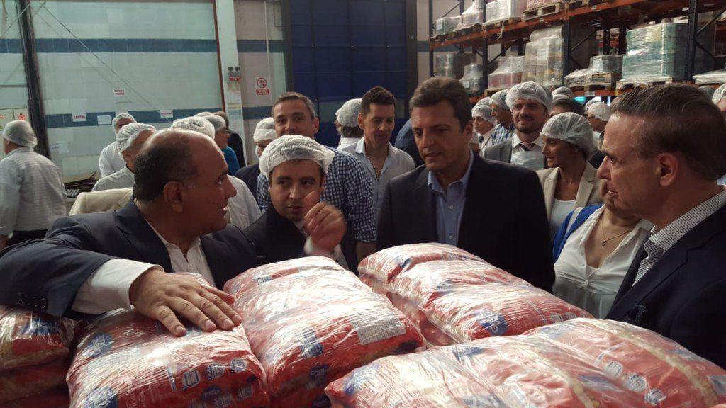 Manzur, Pichetto y Massa visitaron el Complejo Agroindustrial San Salvador
