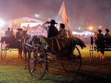 Por el temporal se suspendió el Festival del Sulky en Simoca