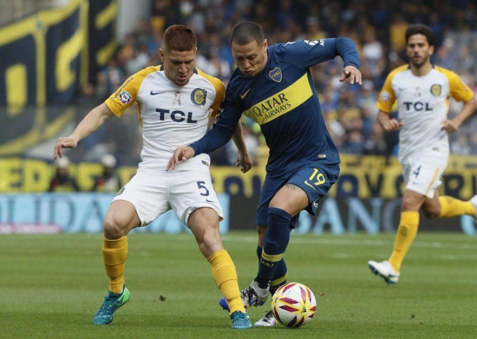 Boca y Rosario Central no se sacaron diferencias en la Bombonera