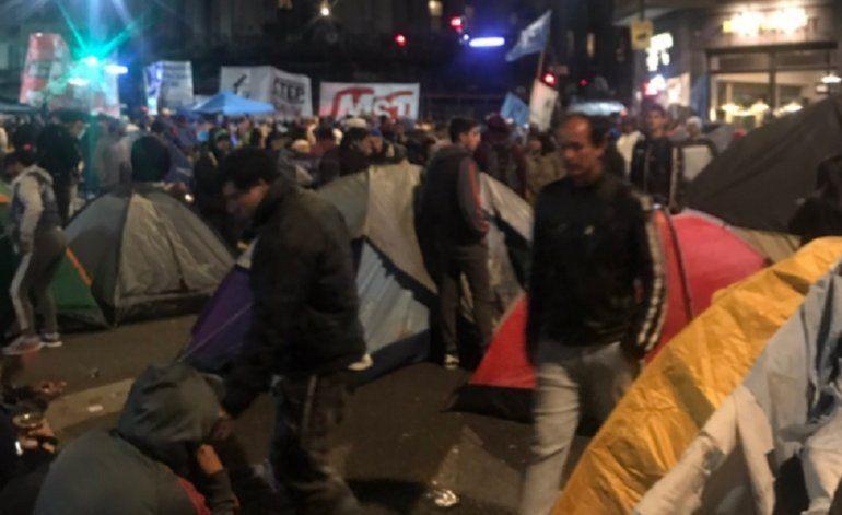 Movimientos sociales advierten sobre posibles incidentes a las afueras del Congreso
