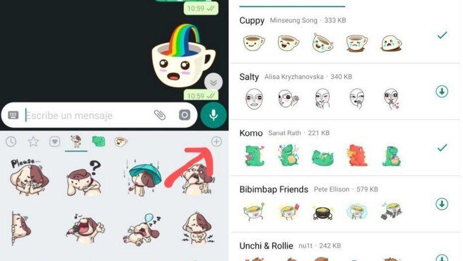 Llegaron los stickers a WhatsApp: cómo activarlos en los chats