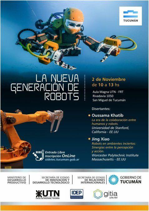 ¿Te interesa la robótica?