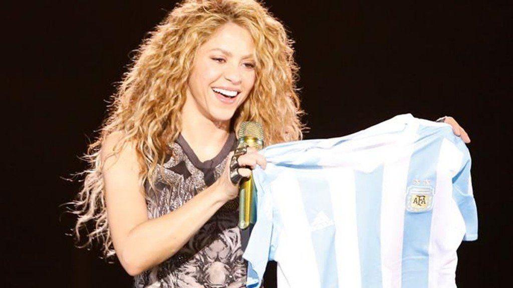 Shakira se presentó en Argentina luego de siete años