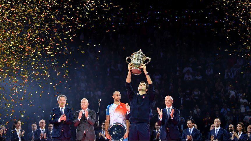 Roger Federer superó a Copil y se coronó en Basilea por novena vez en su historia