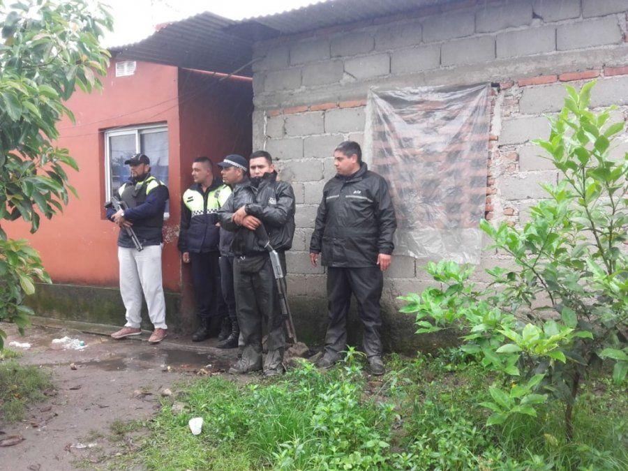 Un investigación por robo de moto terminó con allanamientos, secuestros y detenidos