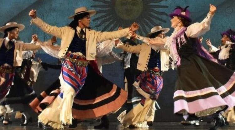 Noche de folclore en el Teatro San Martín