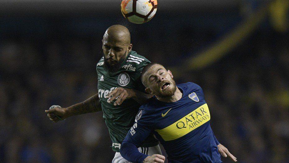 Boca busca pasar a Palmeiras para enfrentar a River