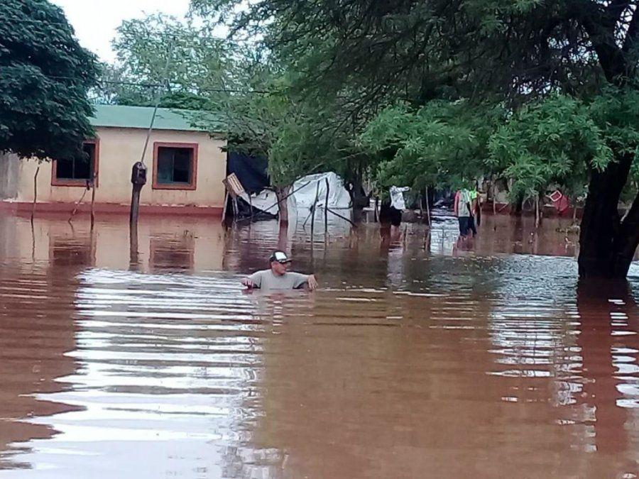 Alrededor de 300 productores sufrieron daños por las últimas inundaciones en Salta