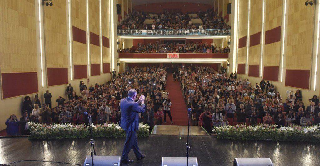 Jaldo agradeció a las Iglesias Evangélicas por el trabajo espiritual y social que hacen en Tucumán