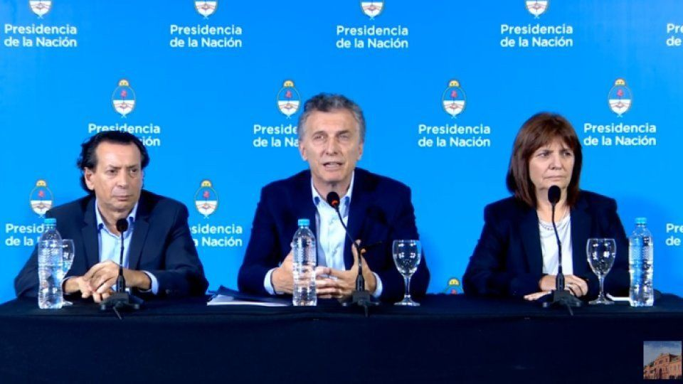 Macri habló del déficit y justificó el aumento de impuestos