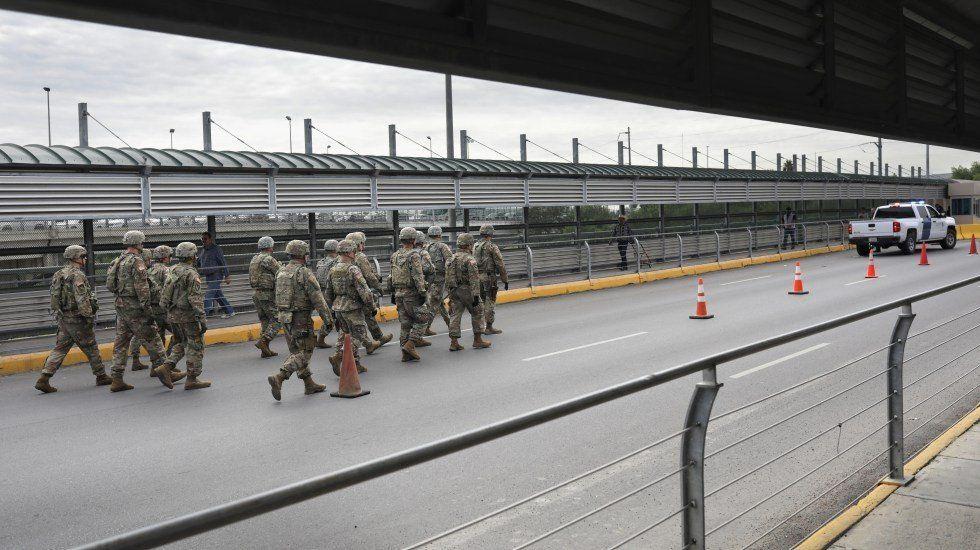 Difunden las primeras imágenes de militares norteamericanos en la frontera