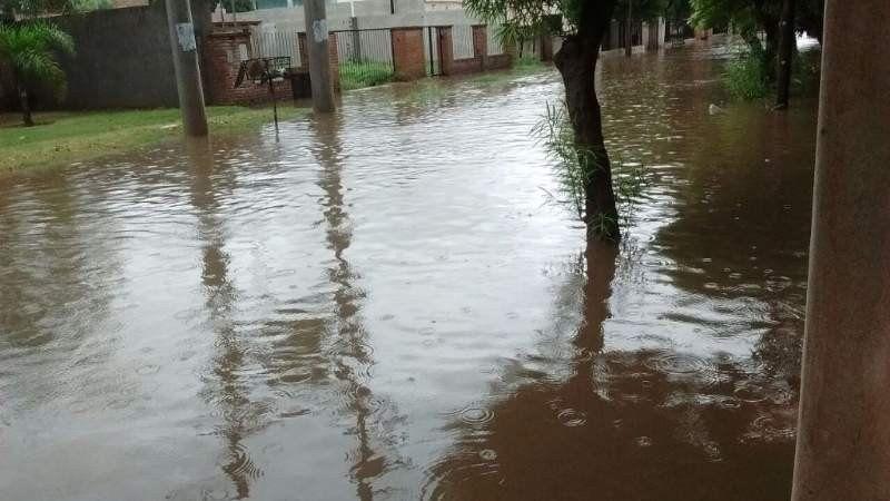 Un temporal en Catamarca provocó inundaciones en diversas localidades