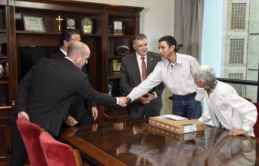La legislatura asistirá a Nazareno para que concluya sus estudios
