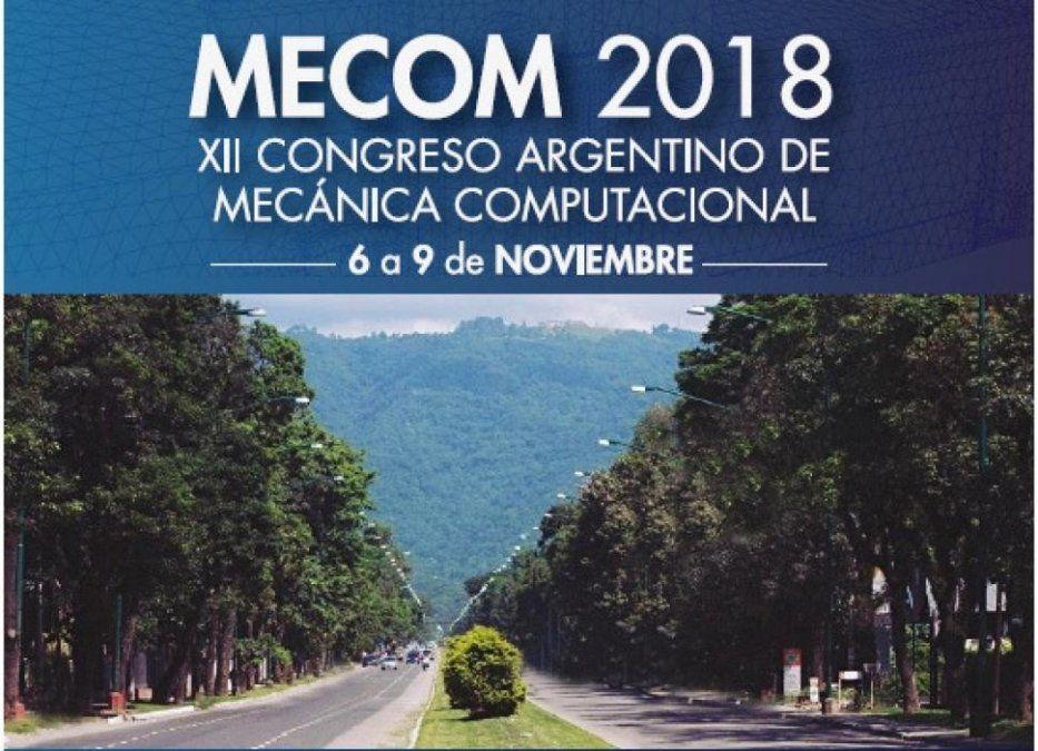 Se realiza en Tucumán el XII Congreso Argentino de Mecánica Computacional