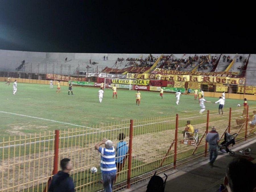 San Jorge rescató un buen empate ante el puntero en Corrientes