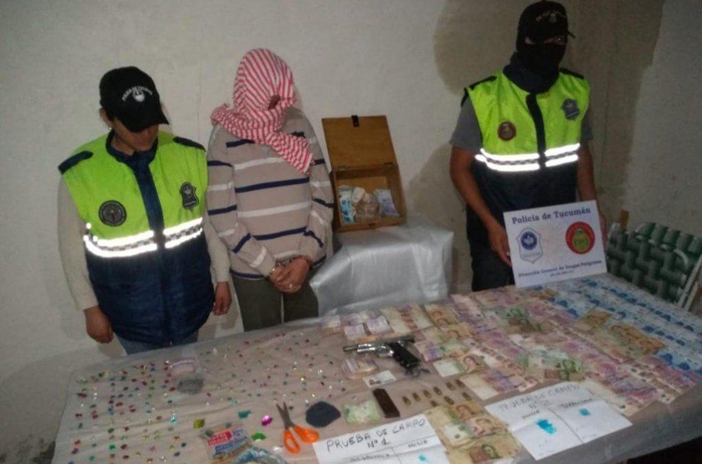 Secuestran droga y dinero en la capital de la provincia