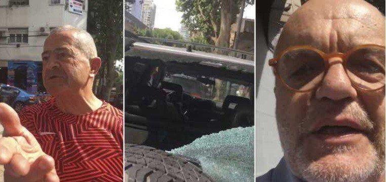 Juan Leyrado protagonizó un violento episodio con un turista francés