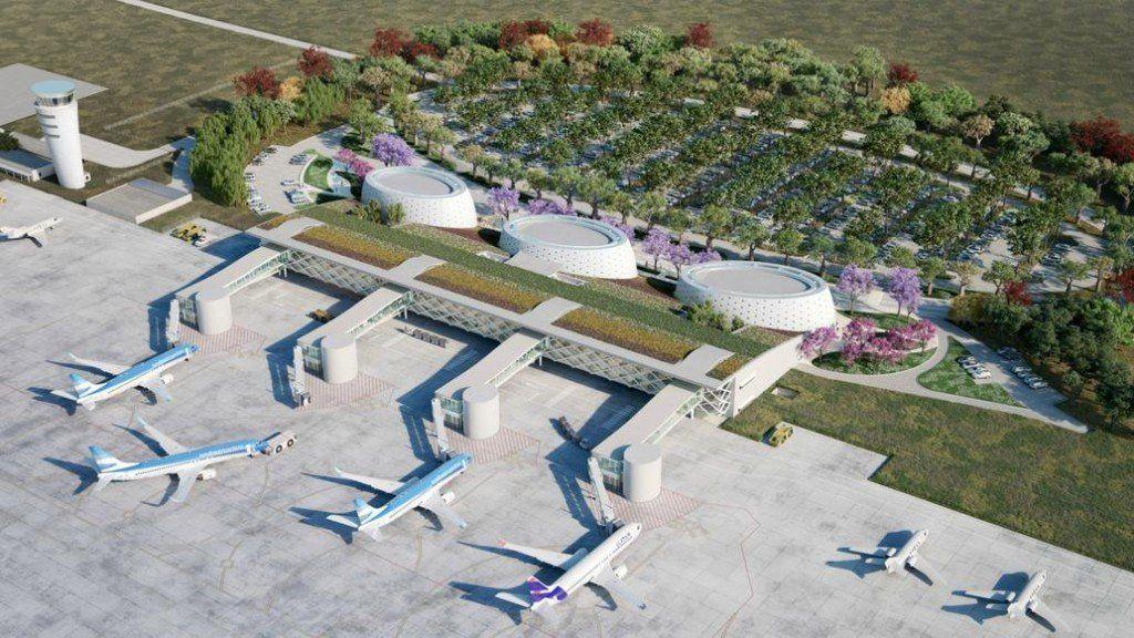 Las obras de renovación del aeropuerto Benjamín Matienzo están en suspenso