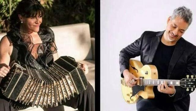 Mariela Acotto y Marcelo Santos a puro tango