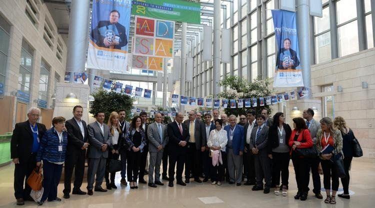 El gobernador Manzur visitó el reconocido Centro Médico Hadassah