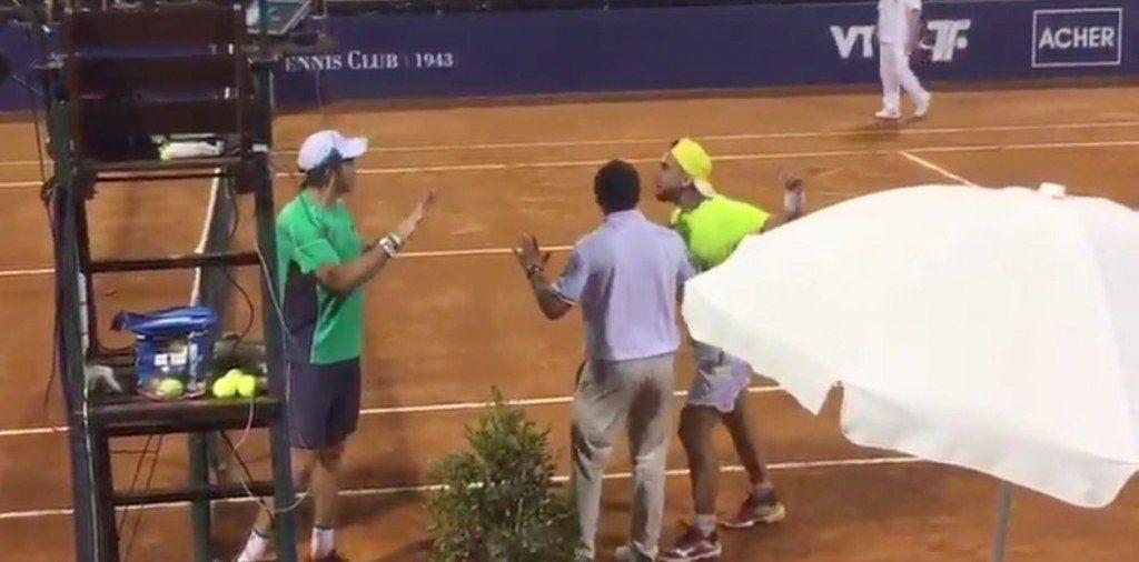 Escándalo: Dos tenistas argentinos se pelearon luego de un partido