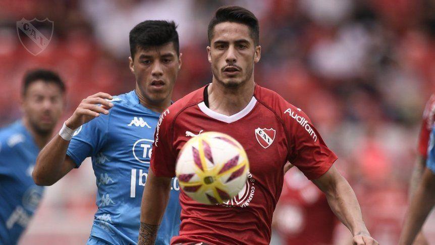 Independiente falló dos penales pero logró vencer a Belgrano