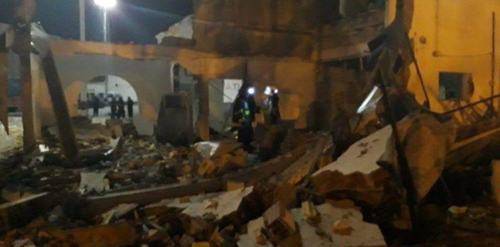 Una explosión en el edificio municipal de Salta dejó dos heridos e importantes daños materiales