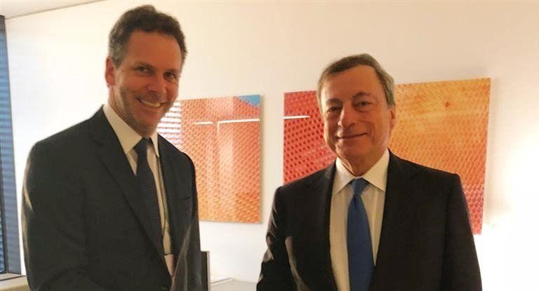 Sandleris se reunió con su par de Brasil y el titular del Banco Central Europeo