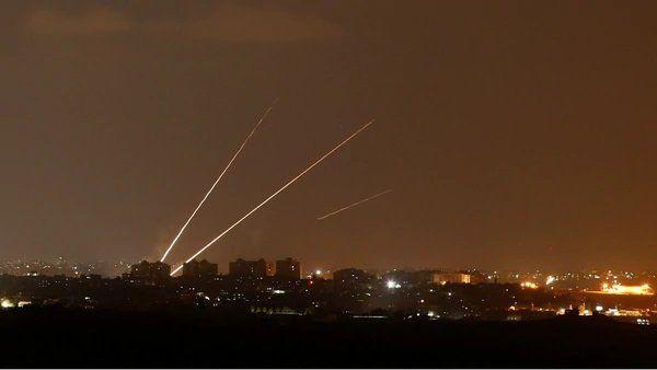 Israel interceptó dos proyectiles lanzados por los terroristas de Hamas