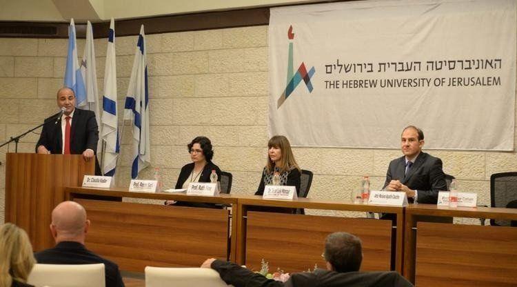 La UNT y la Universidad de Jerusalén promueven intercambios académicos