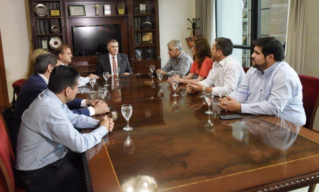 Jaldo felicitó a la nueva mesa de conducción del Concejo Deliberante de la capital