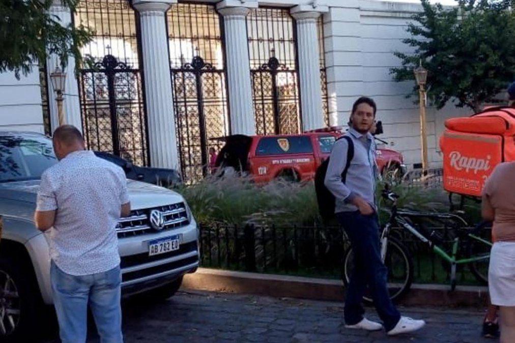 Una explosión en el Cementerio de la Recoleta dejó a una mujer herida de gravedad