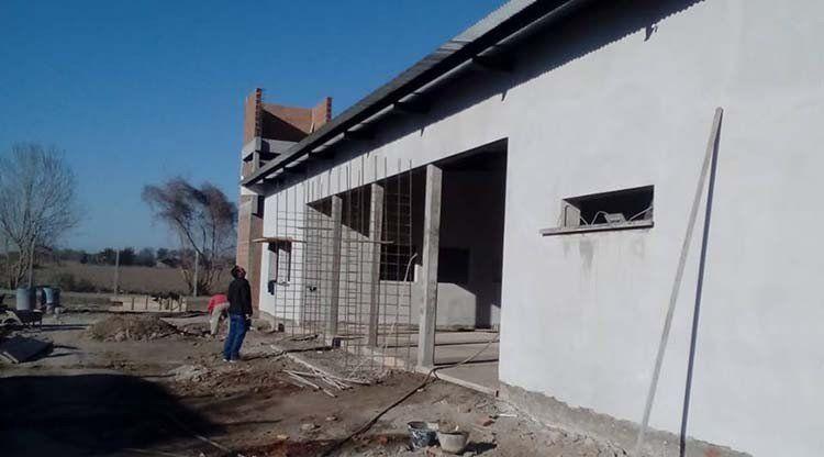 Reparan la escuela de Alto El Puesto y garantizan provisión de agua