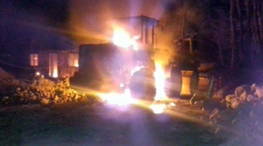 Ataques incendiarios avivan el conflicto mapuche en Río Negro