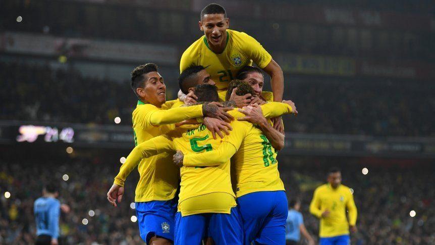 Brasil superó a Uruguay en Londres